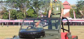 HUT Satlinmas ke 54 Tahun 2016 di Sukoharjo