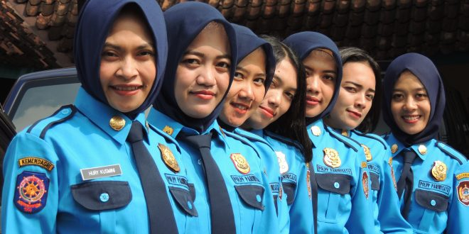 Pengamanan Lebaran 2017 Satpol PP Pariwisata Kabupaten Karanganyar